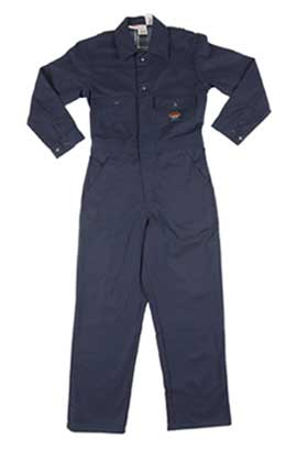 (BFI3000) Insulated Navy Fire Retardant Coverall (10 OZ)