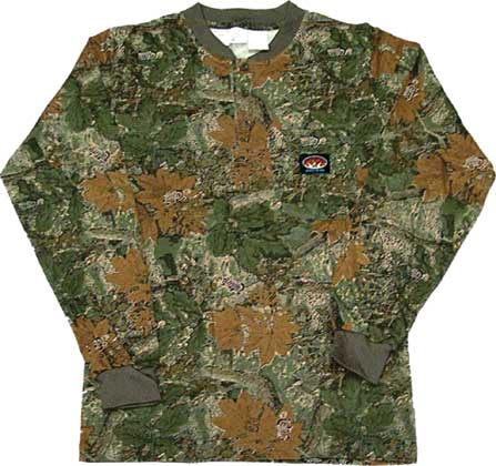 (FR0101WC) LONG SLEEVE 100% COTTON CAMO