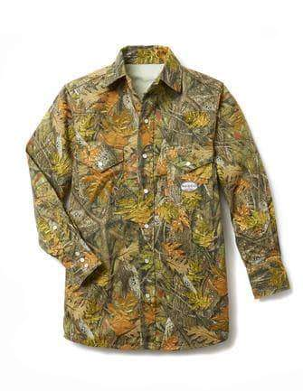 Woodland Camo FR Dress Shirt (CN757)