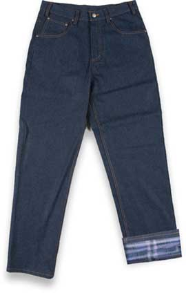 (JFRi2000) Blue Denim Fire Retardant Insulated Jeans