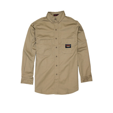 KHAKI FR Dress Shirt (FR1003KH)