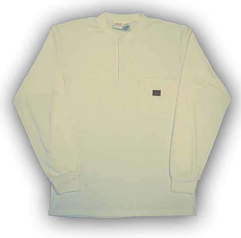 (FR0101KH) LONG SLEEVE 100% COTTON KHAKI - Click Image to Close