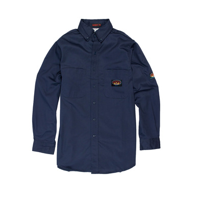 NAVY FR Dress Shirt (FR1003NV-M)