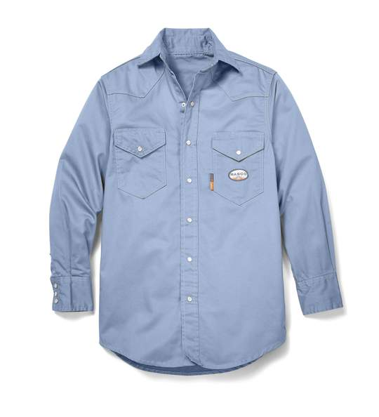 WORK BLUE FR Dress Shirt (FR1003WB-M)